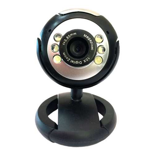 Web Camera 1.3MP, Plug & Play, Black